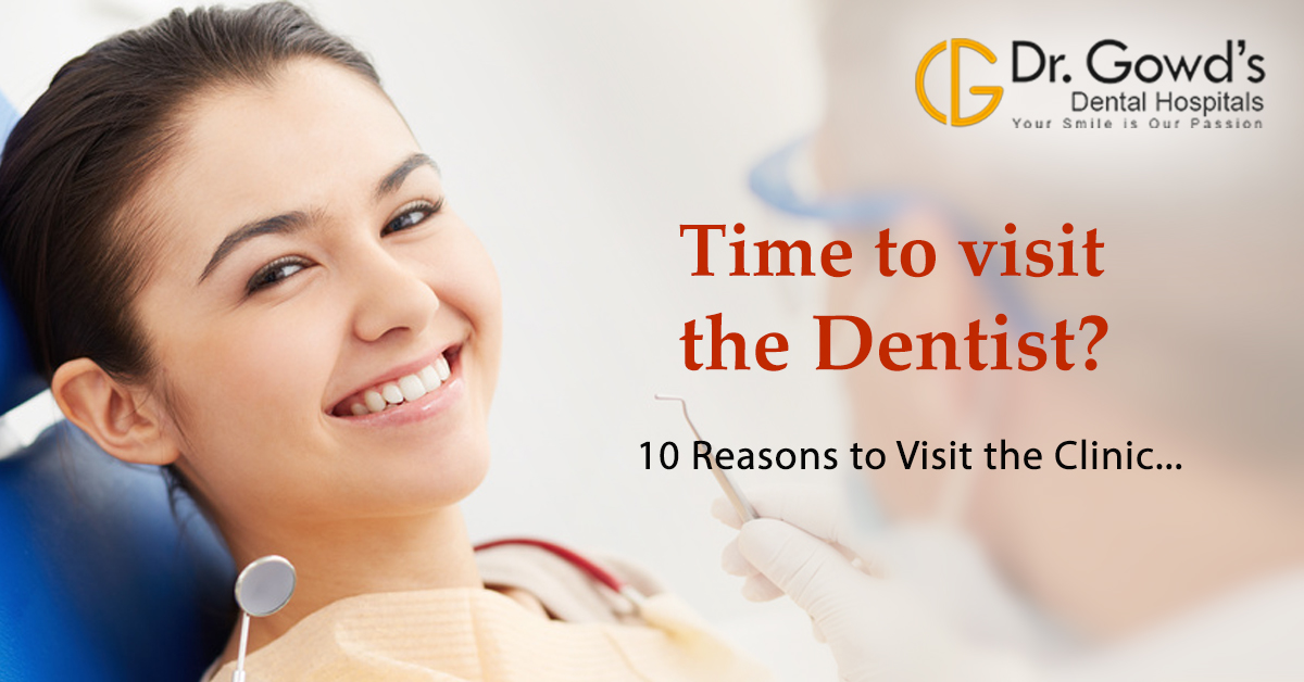 Reasons to Visit Dentist